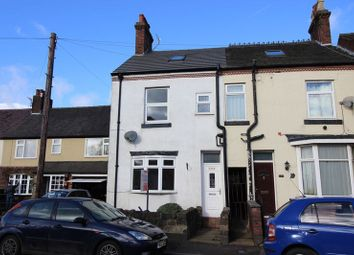 Thumbnail 3 bed terraced house for sale in Ball Haye Road, Leek