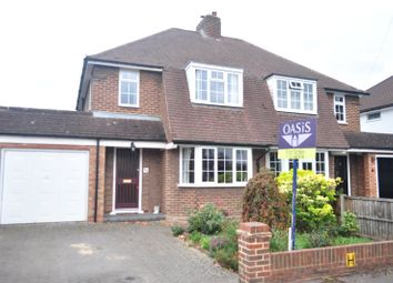 Thumbnail 3 bed semi-detached house for sale in Hurstdene Avenue, Staines-Upon-Thames, Surrey