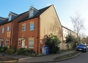 Thumbnail 4 bed end terrace house for sale in Bellway Close, Kettering, Northants
