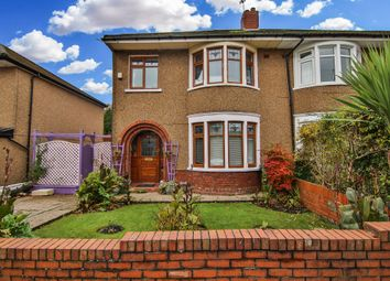Thumbnail 3 bed semi-detached house for sale in Allensbank Road, Heath, Cardiff