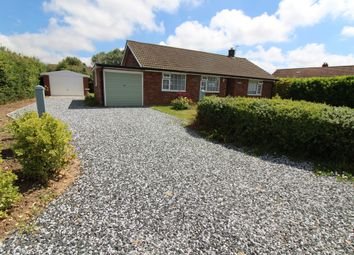 Thumbnail 3 bed detached bungalow for sale in Back Lane, Catfield, Great Yarmouth