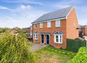 Thumbnail 3 bed semi-detached house for sale in The Embankment, Ickleford, Hitchin
