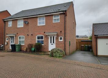 Thumbnail 3 bed semi-detached house to rent in Hillside Gardens Wittering, Peterborough