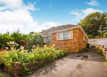 Thumbnail 3 bed semi-detached bungalow for sale in Elvin Crescent, Rottingdean, Brighton