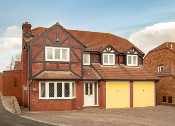 Thumbnail 5 bedroom detached house for sale in Standarhay Close, Elburton