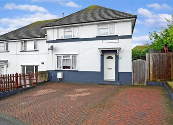 Thumbnail 4 bed semi-detached house for sale in Manor Crescent, Brighton, East Sussex