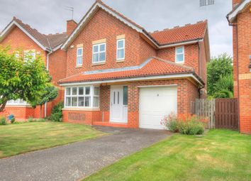 Thumbnail 4 bed detached house for sale in Bradman Drive, Chester Le Street
