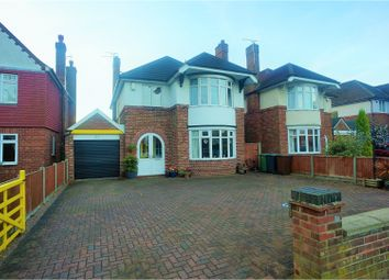Thumbnail 4 bed detached house for sale in Yarborough Crescent, Lincoln