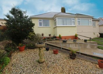 Thumbnail 2 bed semi-detached bungalow for sale in Foxhole Road, Paignton