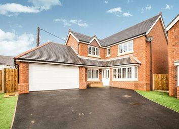 Thumbnail 4 bedroom detached house for sale in Hero's Place, Northop Hall, Mold, Flintshire