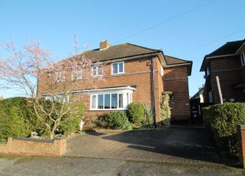 Thumbnail 3 bed semi-detached house for sale in Marina Drive, Dunstable