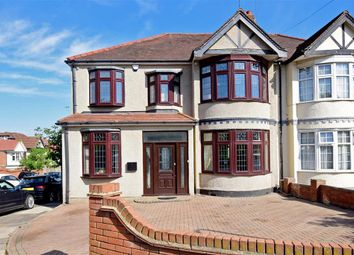 Thumbnail 5 bed semi-detached house for sale in Stoneleigh Road, Clayhall, Ilford, Essex
