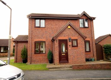 Thumbnail 3 bed detached house for sale in Danesmead Close, Fulford, York