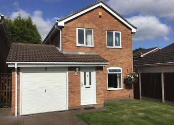 Thumbnail 3 bed detached house for sale in Clematis Drive, Leegomery, Telford