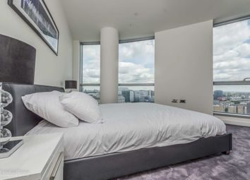 Thumbnail 2 bed flat to rent in Charrington Tower, 11 Biscayne Avenue, Canary Wharf