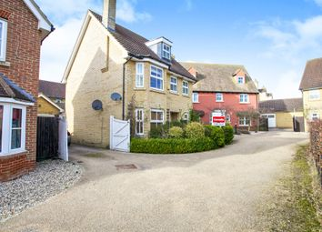 Thumbnail 4 bed detached house for sale in Wattle Close, Lower Cambourne, Cambridge