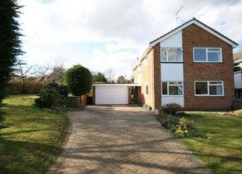 Thumbnail 4 bed detached house to rent in Kinsbourne Close, Harpenden