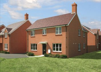 "Thumbnail 4 bedroom detached house for sale in ""The Ludlow "" at Fogwell Road, Botley, Oxford"