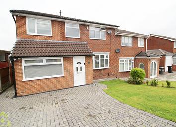 Thumbnail 4 bed semi-detached house for sale in Braeside Grove, Ladybridge, Bolton