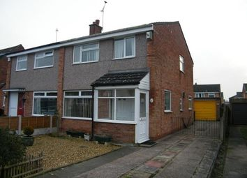Thumbnail 3 bed semi-detached house for sale in Grosvenor Avenue, Hartford, Northwich, Cheshire