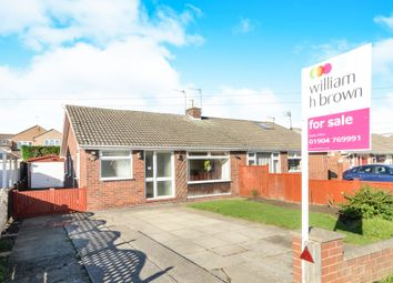 Thumbnail 3 bed semi-detached bungalow for sale in Cleveland Way, Huntington, York