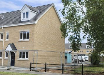 Thumbnail 3 bed town house for sale in Nuffield Crescent, Gorleston, Great Yarmouth