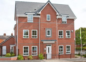 "Thumbnail 3 bed semi-detached house for sale in ""Brentwood"" at Fen Street, Brooklands, Milton Keynes"