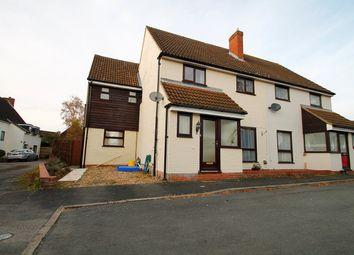 Thumbnail 4 bedroom semi-detached house for sale in Avocet Lane, Martlesham Heath, Ipswich