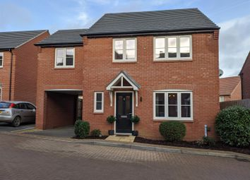 Thumbnail 4 bed detached house for sale in Bamburgh Close, Grantham