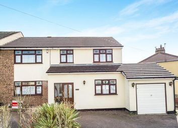 Thumbnail 4 bed end terrace house for sale in Collier Row, Romford, Essex