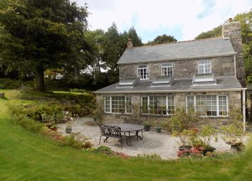 Thumbnail 4 bed farmhouse to rent in Roche, St. Austell