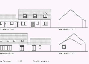 Thumbnail 5 bed bungalow for sale in Mill House Lane, Winterton, Scunthorpe
