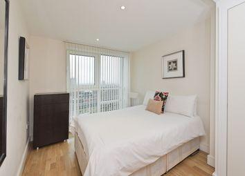 Thumbnail 2 bedroom flat to rent in Aquarius House, 15 St George Wharf, London, London