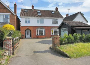 Thumbnail 5 bed detached house for sale in Barlows Lane, Andover