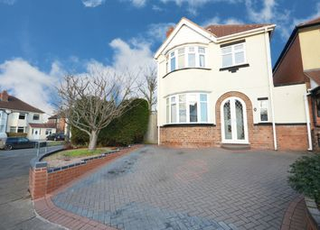 Thumbnail 3 bed detached house for sale in Barton Lodge Road, Hall Green, Birmingham