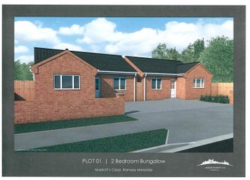 Thumbnail 2 bed detached bungalow for sale in Marriotts Drove, Ramsey Mereside, Huntingdon