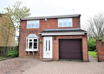 Thumbnail 4 bed detached house for sale in Brougham Court, Peterlee, County Durham