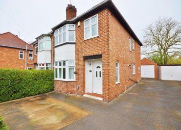 Thumbnail 3 bed semi-detached house to rent in Devon Drive, Ruddington