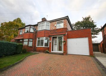 Thumbnail 3 bed semi-detached house for sale in Pine Grove, Eccles, Manchester