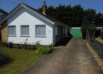 Thumbnail 3 bedroom detached bungalow for sale in Elms Close, Earsham, Bungay