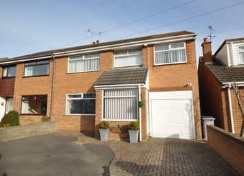 Thumbnail 5 bed semi-detached house for sale in Somerset Road, Pensby, Wirral