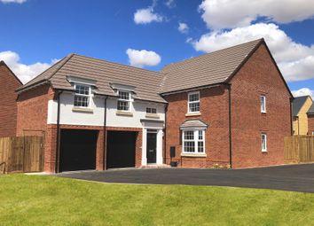 "Thumbnail 5 bedroom detached house for sale in ""Oulton"" at Bush Heath Lane, Harbury, Leamington Spa"