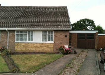 Thumbnail 3 bed semi-detached bungalow to rent in Dewsbury Drive, Burntwood