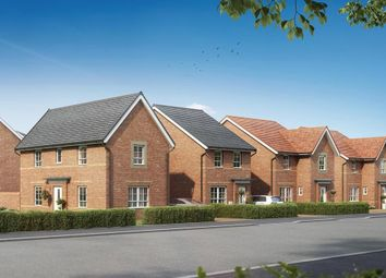 """Thumbnail 4 bedroom semi-detached house for sale in """"Kingsville"""" at Lake Road, Hamworthy, Poole"""