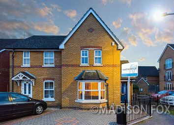 Thumbnail 3 bedroom end terrace house to rent in Ravenoak Way, Chigwell