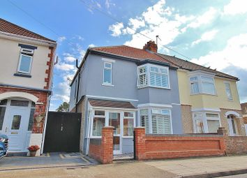Thumbnail 3 bed semi-detached house for sale in Heathcote Road, Portsmouth