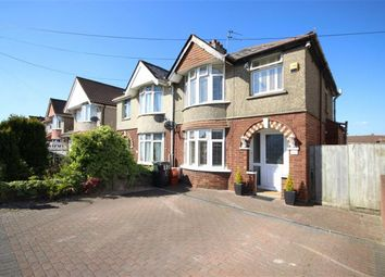 Thumbnail 3 bedroom semi-detached house for sale in Cumberland Road, Old Walcot, Swindon