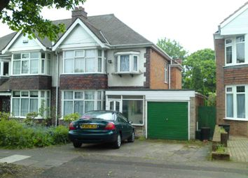 Thumbnail 3 bed semi-detached house to rent in Cherry Orchard Road, Handsworth Wood