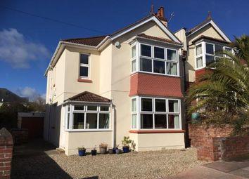 Thumbnail 4 bedroom semi-detached house for sale in Paignton, Devon