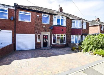 Thumbnail 4 bed semi-detached house for sale in Thornley Road, East Denton, Newcastle Upon Tyne